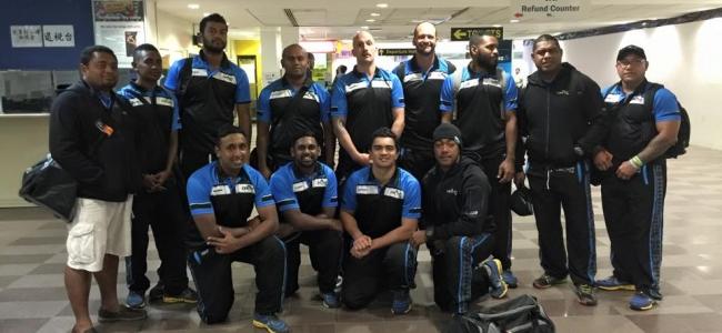 Fiji arrive in England ahead of World League