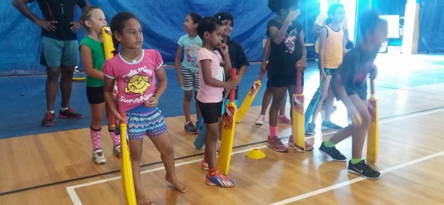 FSC Sports Camp Gets Cricket